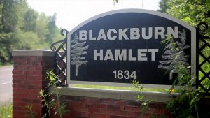 Blackburn sign